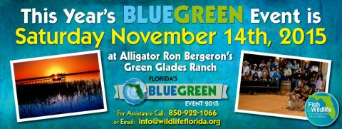 The blue green event florida insider fishing report for Florida insider fishing report